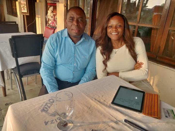 Directeur Provincial ACE & Directrice Nationale HESHIMIA MAZINGIRA