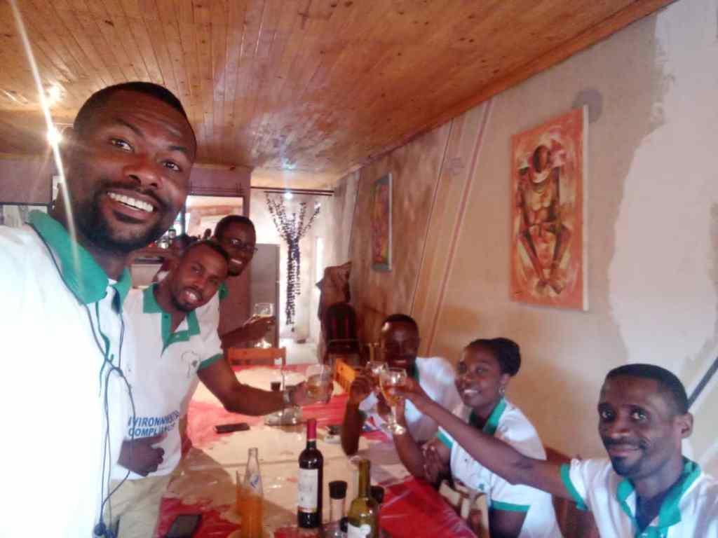 Ouverture du bureau Kolwezi, cheers!